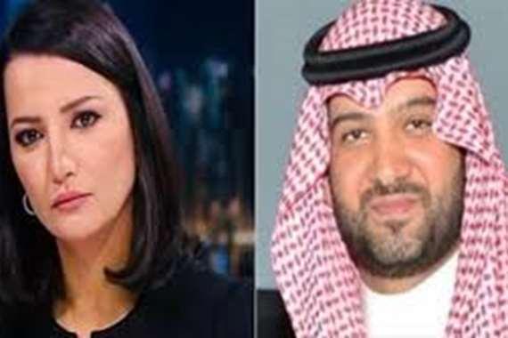 تدوينة مثيرة.. أمير سعودي: هذا ما تبحث عنه  مذيعة الجزيرة