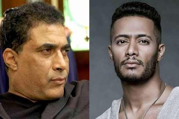 أحمد زكي ومحمد رمضان