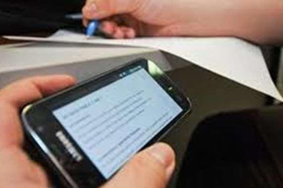 إجابات امتحان اللغة العربية على صفحات الغش الإلكتروني