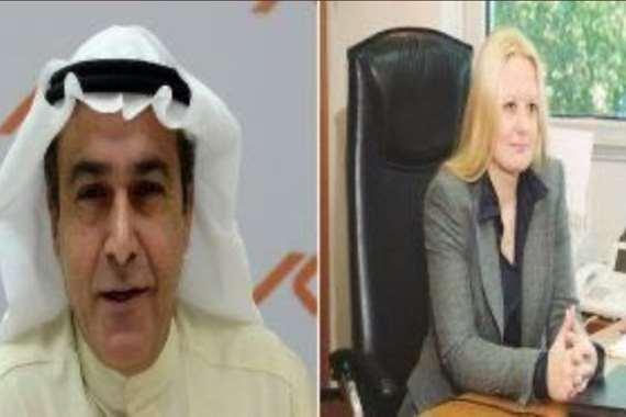 الروسية ورجل الاعمال الكويتي
