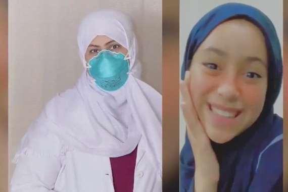 رسالة مبكية .. ممرضة سعودية تفقد ابنتها تطوعت لعلاج كورونا