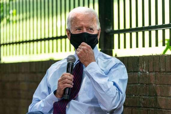 المرشح الديمقراطي للرئاسة الأمريكية، جو بايدن