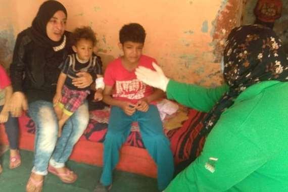 التضامن تحل مشكلات أسرة يتسول أطفالها في شوارع الإسكندرية