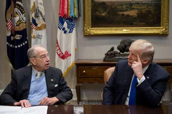 تحذير عاجل من كبير الجمهوريين بمجلس الشيوخ لـ «ترامب»