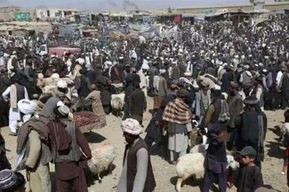 سوق مواشي في أفغانستان