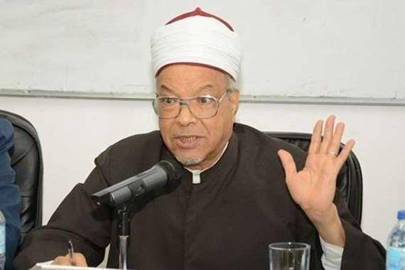 الدكتور محمد عبد الفضيل القوصي وزير الأوقاف الأسبق