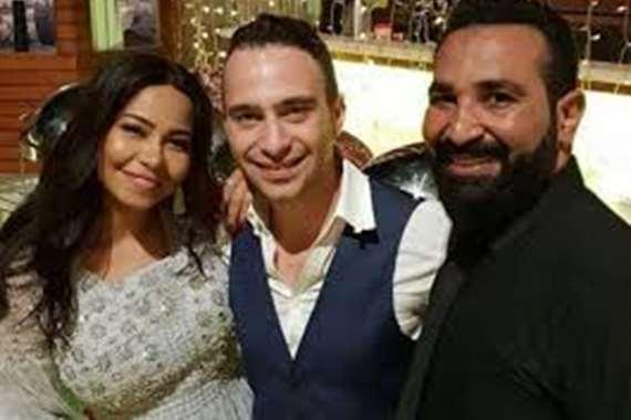 شيرين وحسام حبيب واحمد سعد
