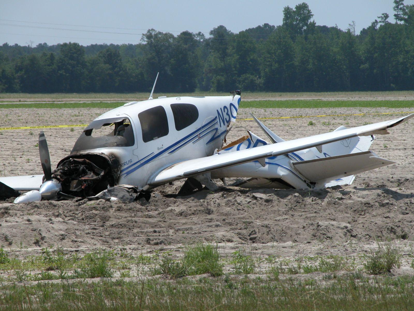مصرع شخصين في سقوط طائرة صغيرة بأمريكا