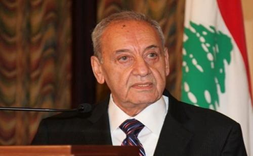"""""""بري"""" يطالب بمنح الامتيازات النفطية للتصدي للقرصنة الإسرائيلية"""