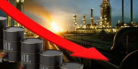 هبوط  برميل النفط إلى 53.69 دولار