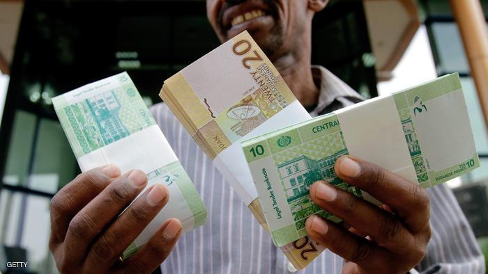 ارتفاع قيمة الجنيه السوداني أمام الدولار