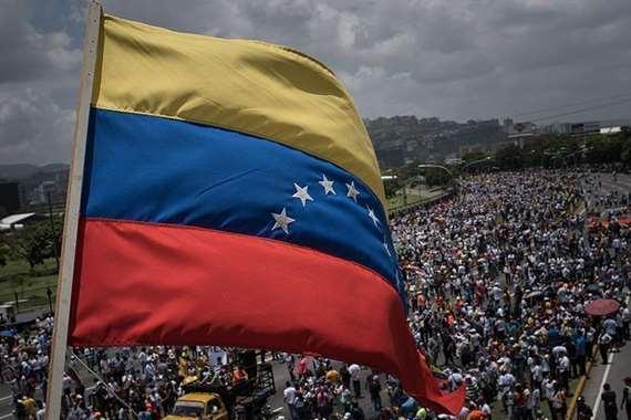 اجتجاجات فى فنزويلا