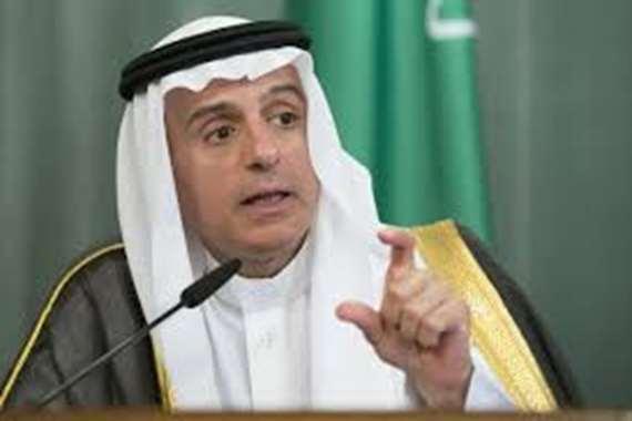 عادل الجبير، وزير الخارجية السعودي،