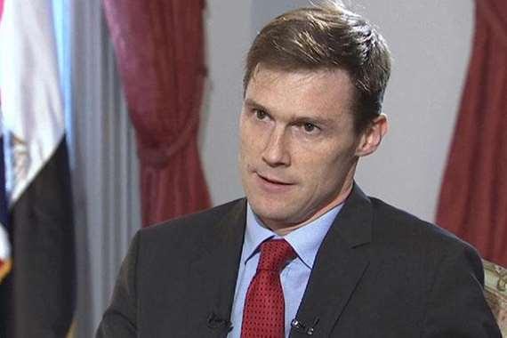 السفير البريطاني بالقاهرة، جون كاسن