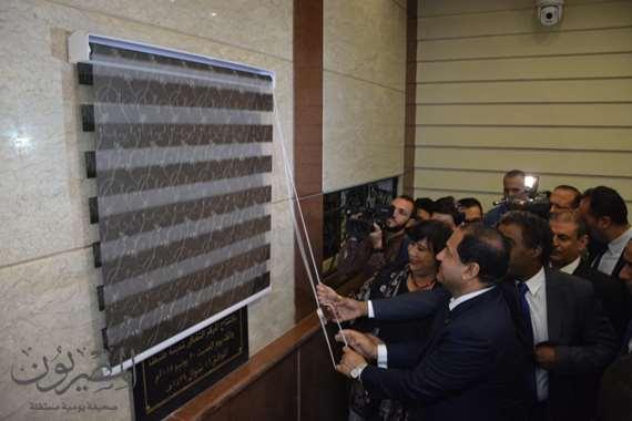 وزيرة الثقافة ومحافظ الغربية يفتتحا المركز الثقافي بطنطا بعد تطويرة بتكلفه 50 مليون جنيه