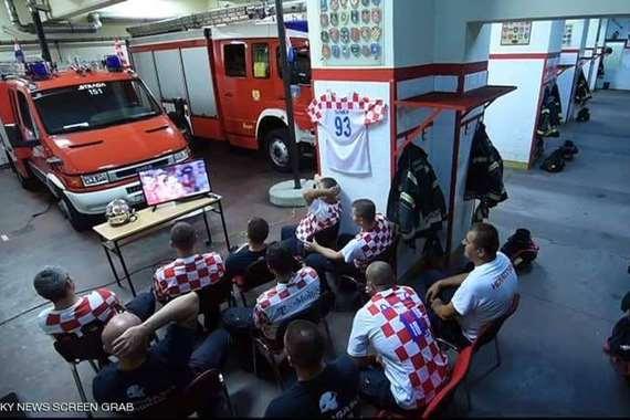 فريق الإطفاء الكرواتي