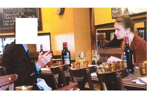 بوتينا مع مسؤول روسي