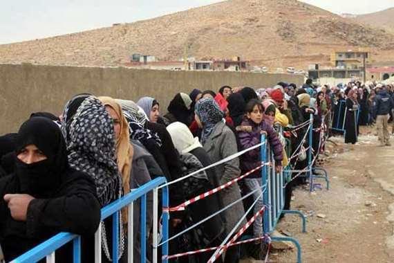لاجئين سوريين (أرشيفية)