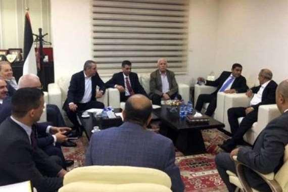وفد المخابرات المصرية في رام الله