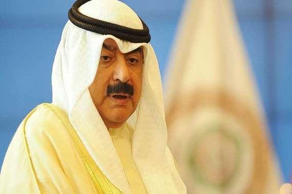 وزير الخارجية الكويتي خالد الجار الله