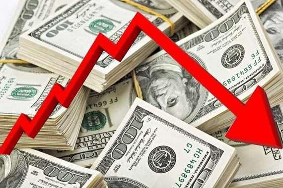 انخفاض الدولار