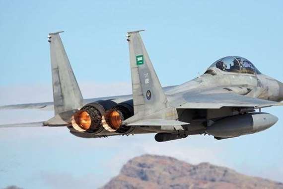 طائرة عسكرية سعودية