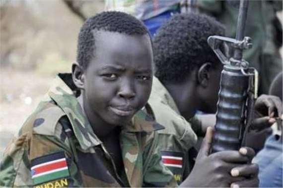 تجنيد  أطفال السودان
