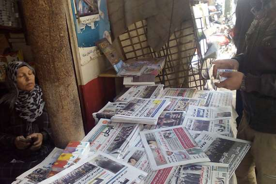 بائعو الصحف