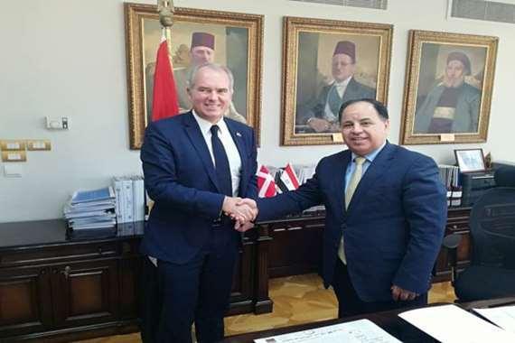 سفير الدنمارك فى القاهرة