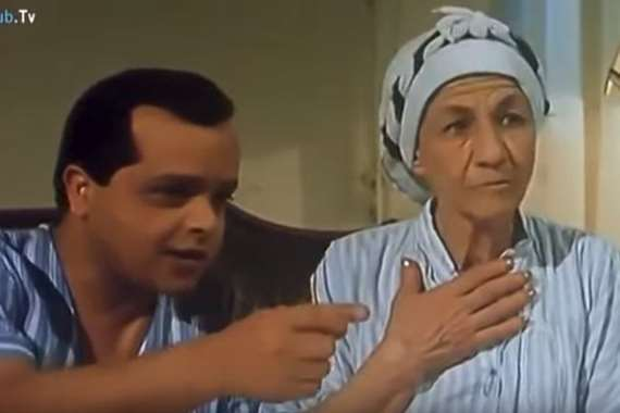 الفنانة فوزية عبدالعليم في فيلم صاحب صاحبه