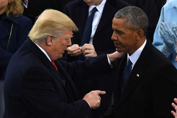 ترامب واوباما