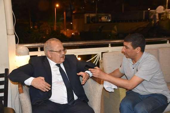 محرر المصريون مع الدكتور محمد عثمان الخشت