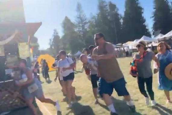 هجوم المهرجان في كاليفورنيا