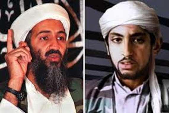 حمزة واسامة بن لادن