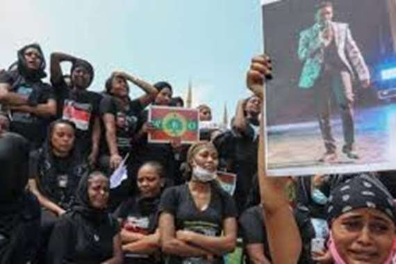 إثيوبيا تعلن هوية المتورطين بقتل المغني