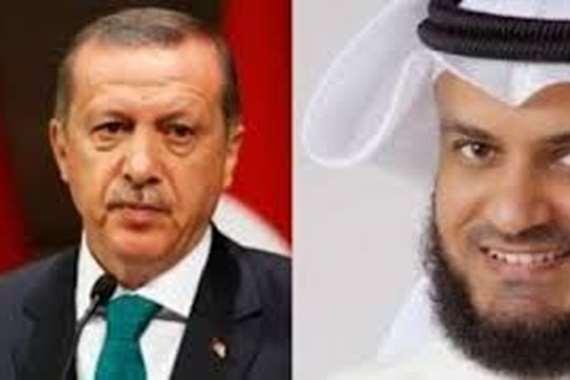 تدوينة مثيرة لمشاري راشد عن لعن أردوغان