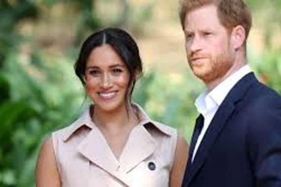 """الأمير """" هاري""""   وزوجته ميجان"""