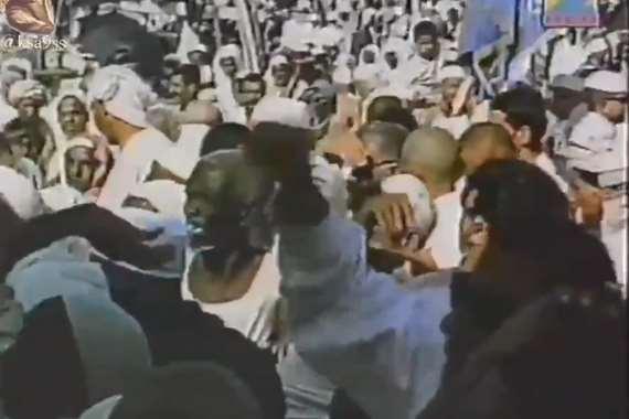 فيديو نادر لمشاعر الحج قبل 60 عاما