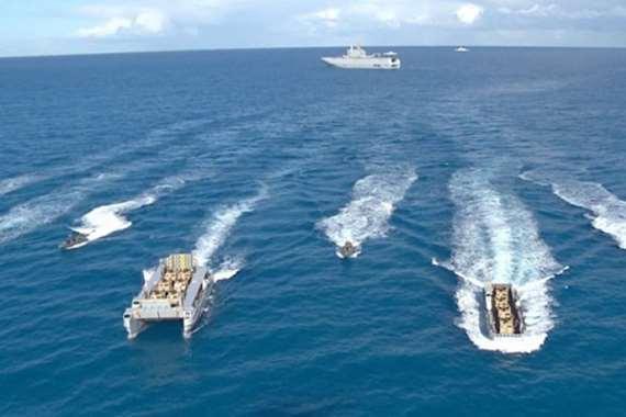 القوات البحرية تعلن تنفيذ مهمة في البحر الأحمر