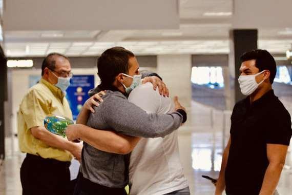 «محمد عماشة» يعود إلى الولايات المتحدة بعد إطلاق سراحه