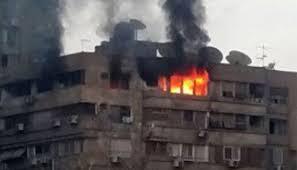 اختناق طفلة في حريق شقة سكنية بالغردقة