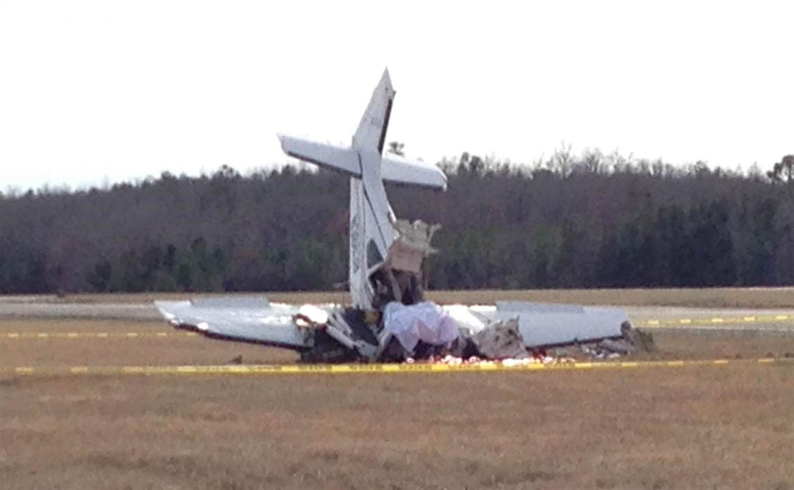 مقتل 6 في تحطم طائرة إيطالية وسط البلاد