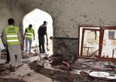 ارتفاع حصيلة تفجير مسجد شيعي بباكستان إلى 49 شخصاً