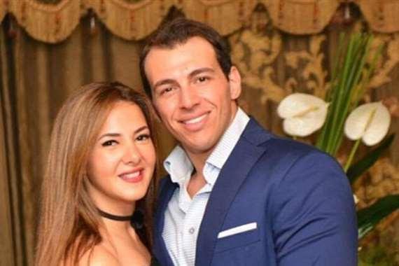 رامي رضوان و زوجته