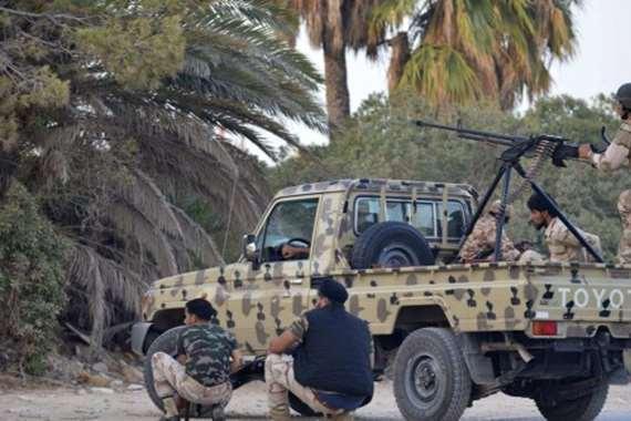 اشتباكات بين قوات حفتر و تشاديين