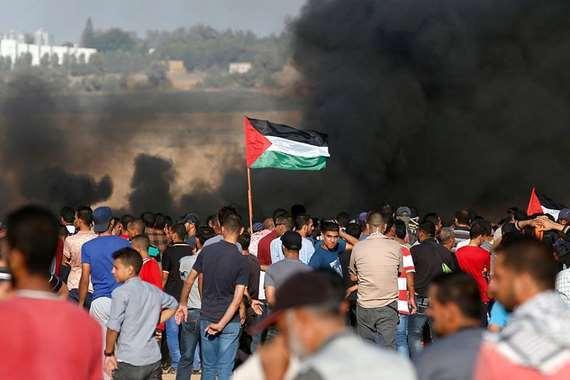 المواجهات في غزة