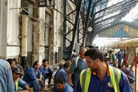 عمال سكة حديد