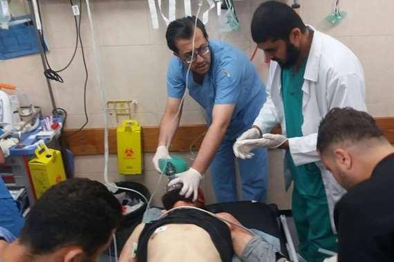 استشهاد شاب فلسطيني برصاص الاحتلال الإسرائيلي في غزة
