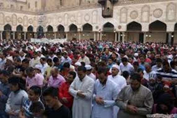 ااوقاف تعلن عن غرفة متابعة لساحات الصلاة فى العيد