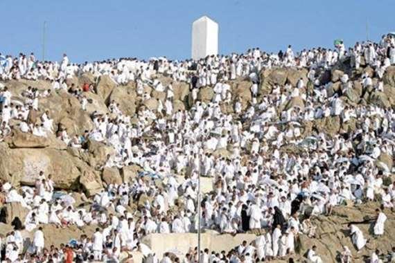 حجاج بيت الله على جبل عرفات